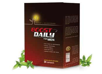 Try BoostDaily for Men Today!