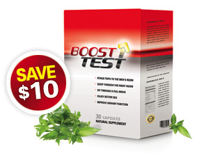 Buy 1 Month supply of BoostTest