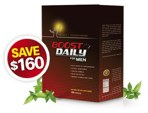 Boost Daily for Men - 6 Months / 180 Capsules