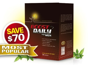 Boost Daily for Men - 3 Months / 90 Capsules