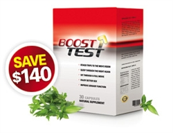 BoostTest - 6 Months / 180 Capsules