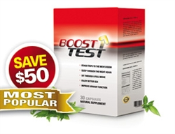 BoostTest - 3 Months / 90 Capsules