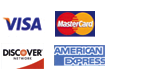 Secure Online Payment Visa, MasterCard, AMEX, Discover