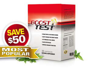 Buy 3 Months supply of BoostTest